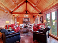 grand livingroom in rushville, ohio cabin